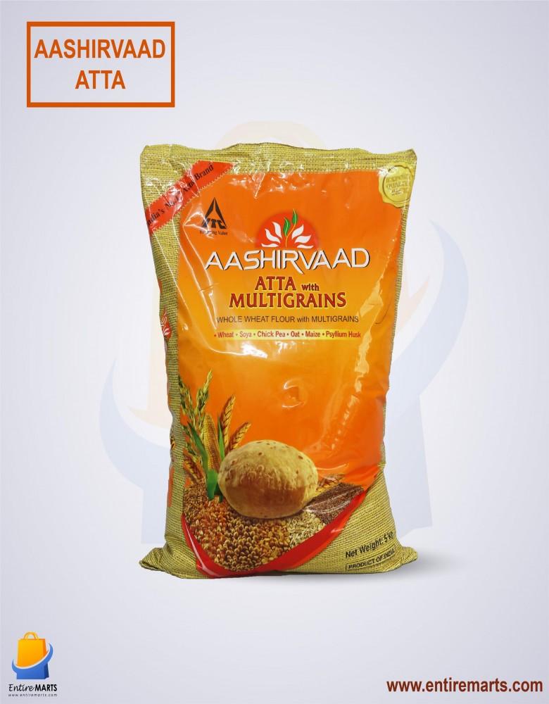 Aashirvaad Atta with Multigrains (5kg)
