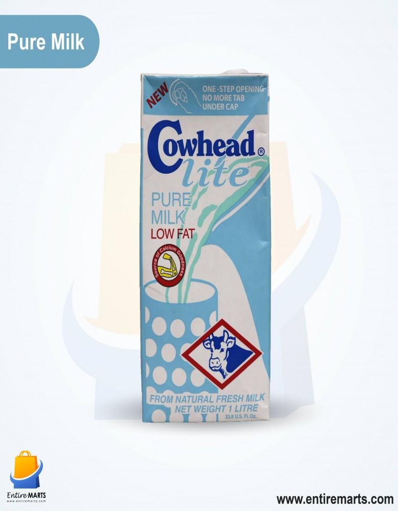 Cowhead Lite Pure Milk.(1L)