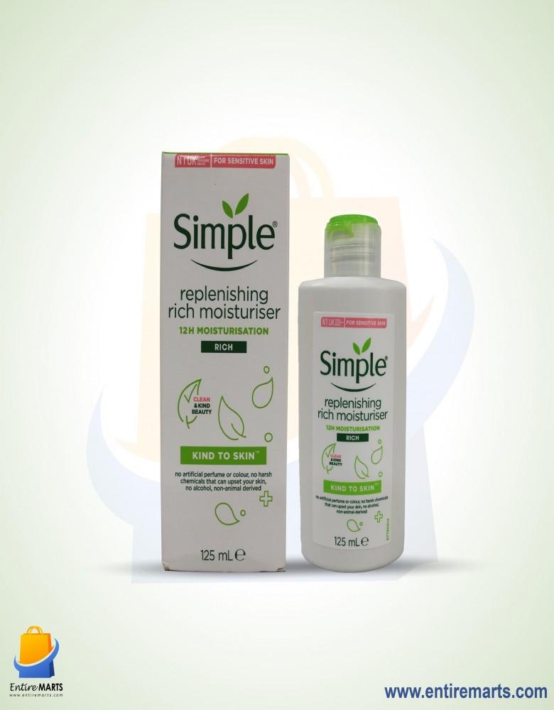 Simple Kind to Skin Replenishing Rich Moisturiser(125ml)