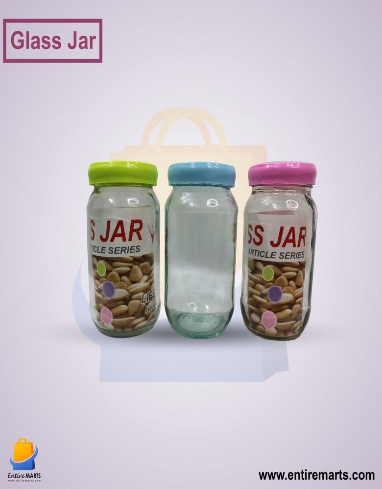 3pcs Glass Jar