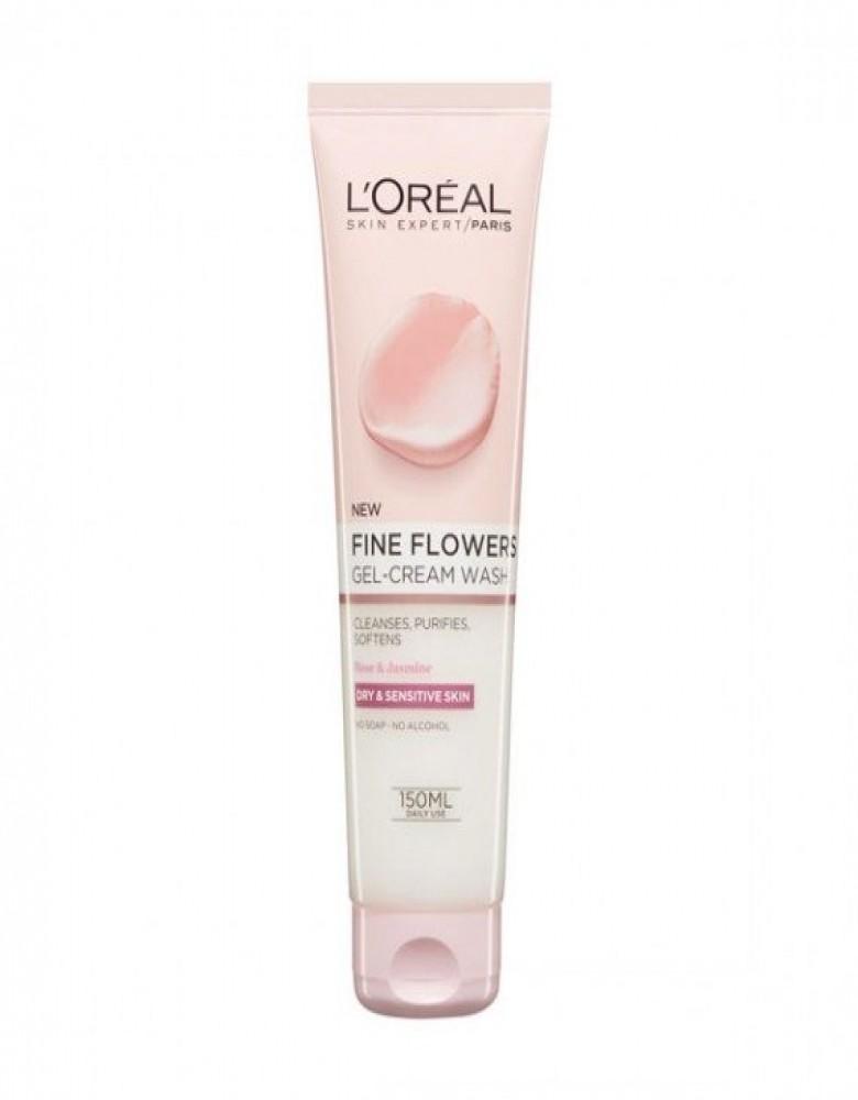 L'Oreal Fine Flowers Gel-Cream Wash(150ml)
