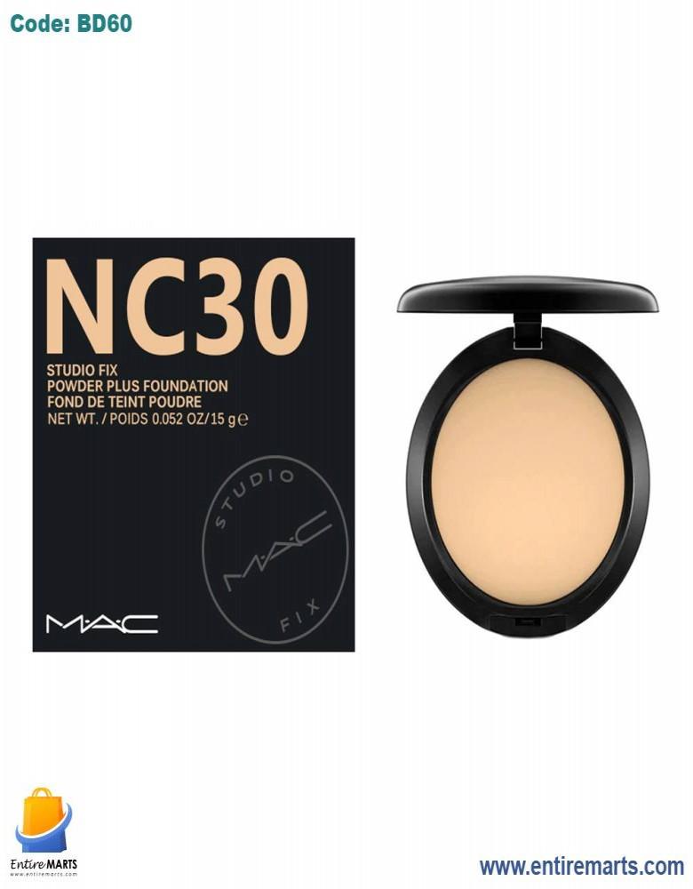 MAC NC 30 Studio Fix Powder Plus Foundation.