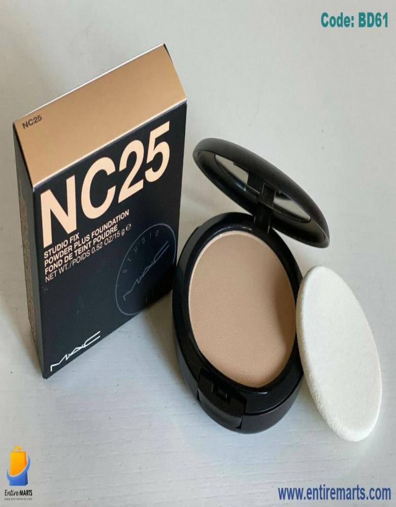 M.A.C Studio Fix Powder Plus Foundation- NC 25